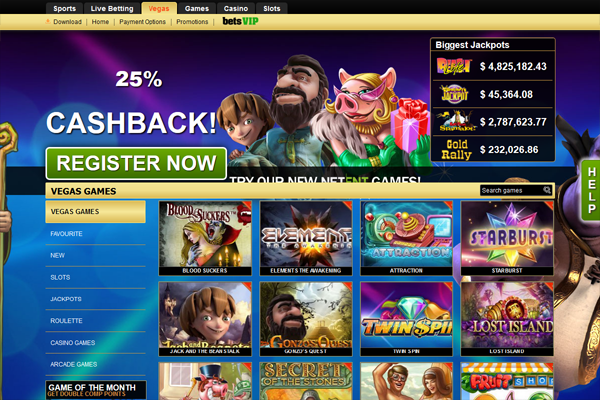 Bets Casino screen shot