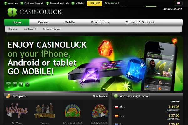 Casino Luck screen shot